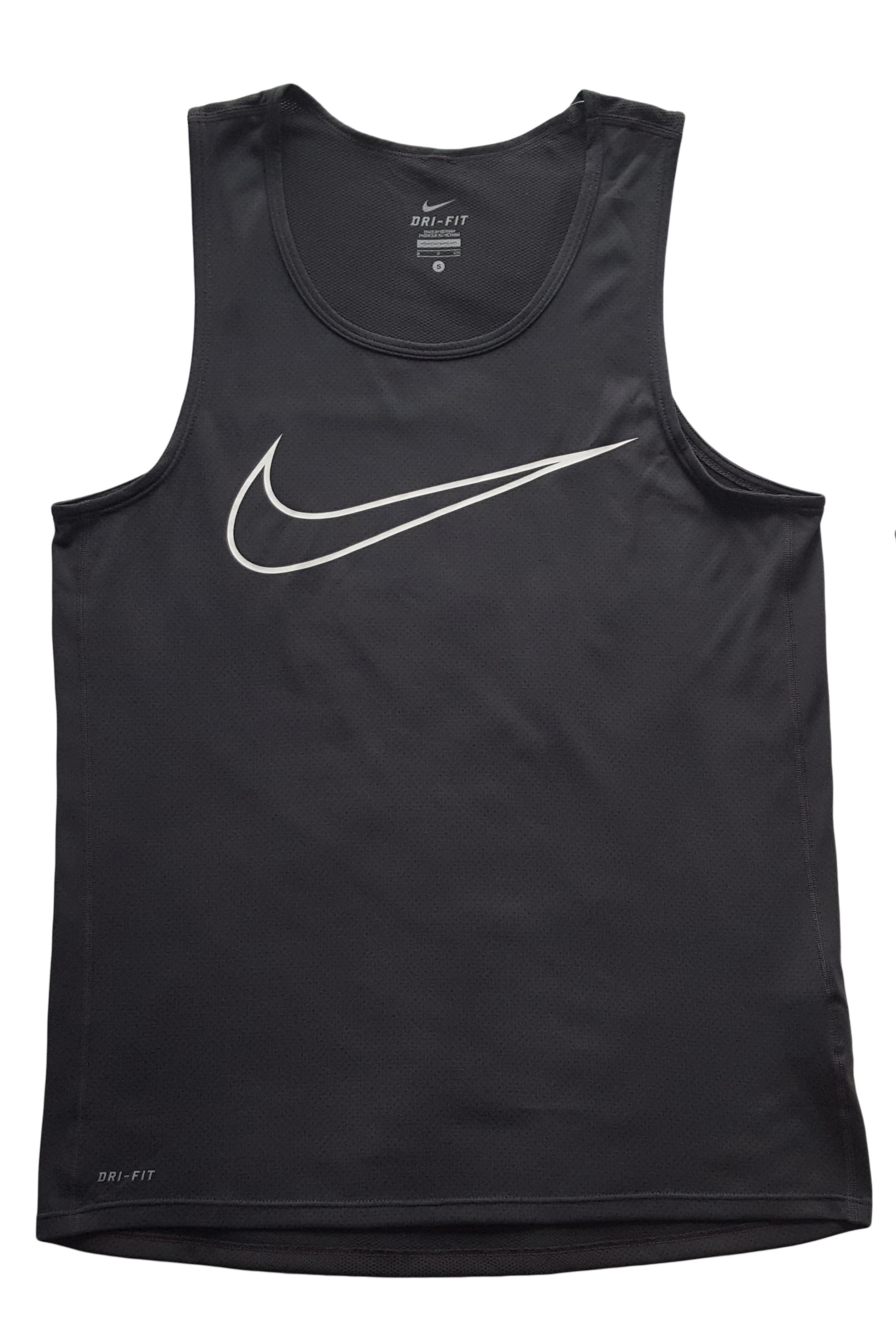 40cdd2beb92b9 Home   Brands   Nike   Nike Men s Graphic Contour Dri-FIT Mesh Running Tank- Top Size Small