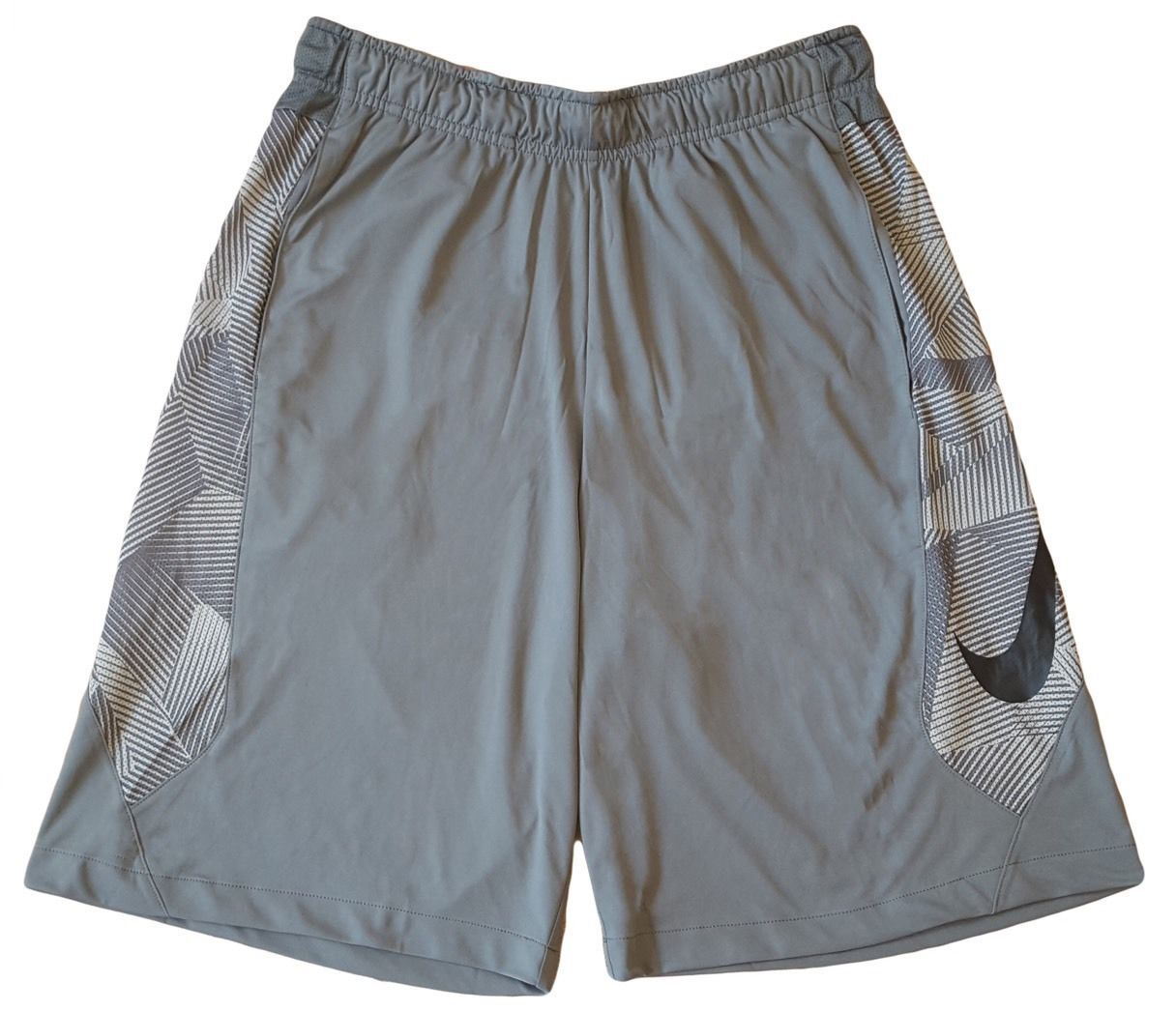 762d8ccb8571 Home   Men s Clothing and Jackets   Nike Dri-FIT Gray Basketball Shorts  Athletic Swoosh Men s Size Large 839523-037